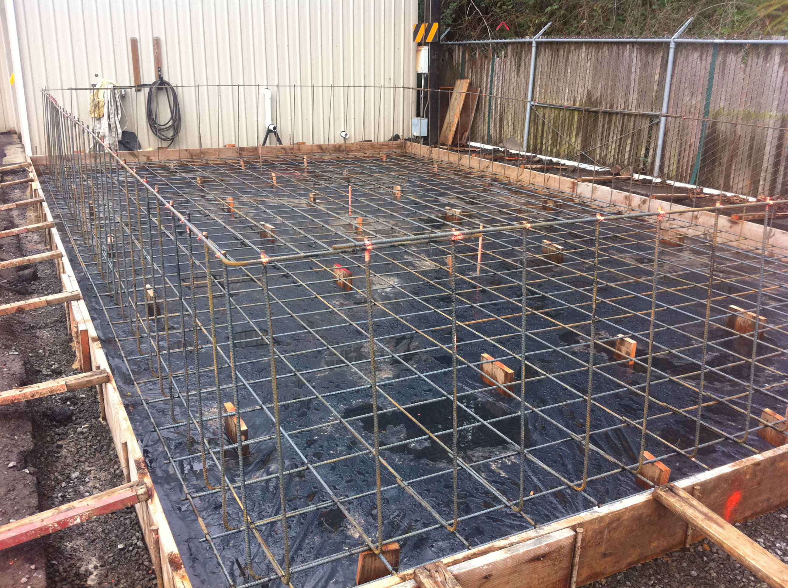Rebar and foundation forming
