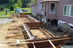 Foundation for custom addition