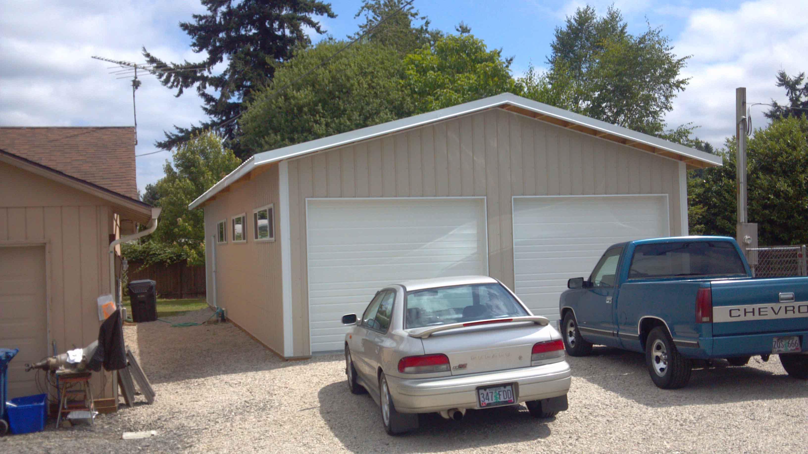 24'x36'x10' garage