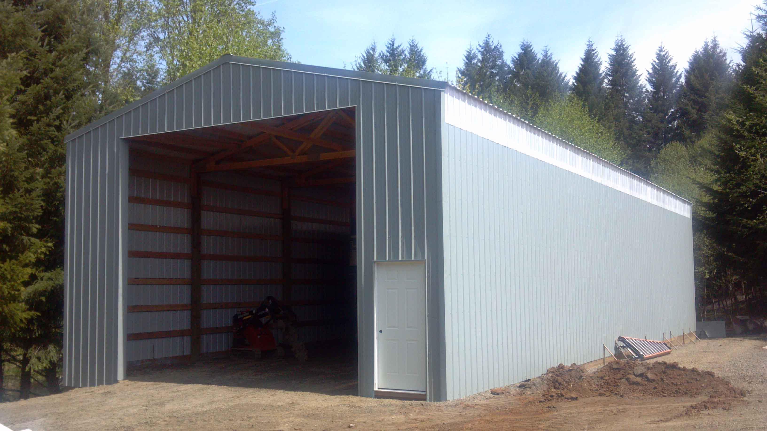 24x60x16 farm equiptment structure