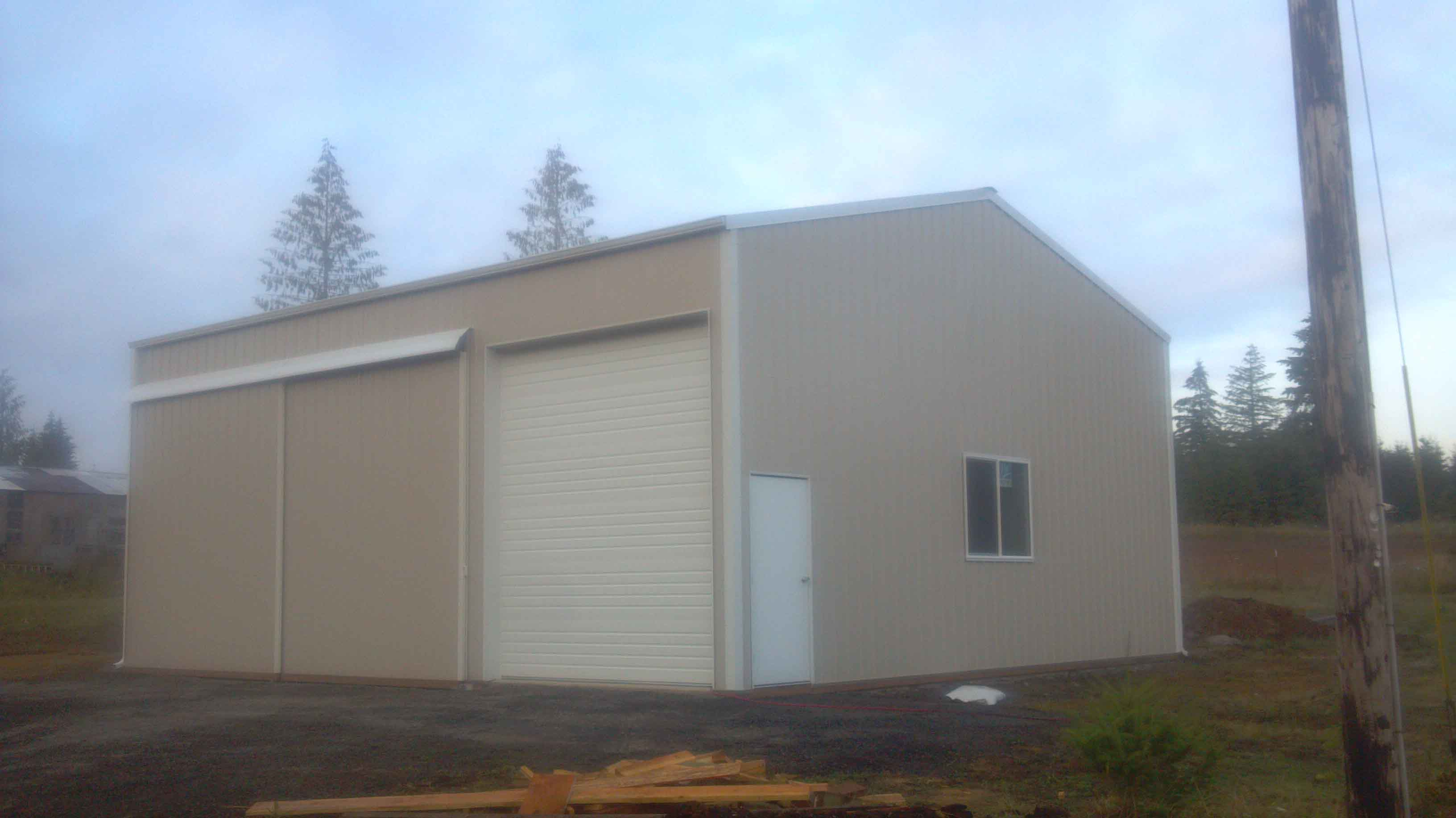 30'x36'x16' Pole building shop (2)