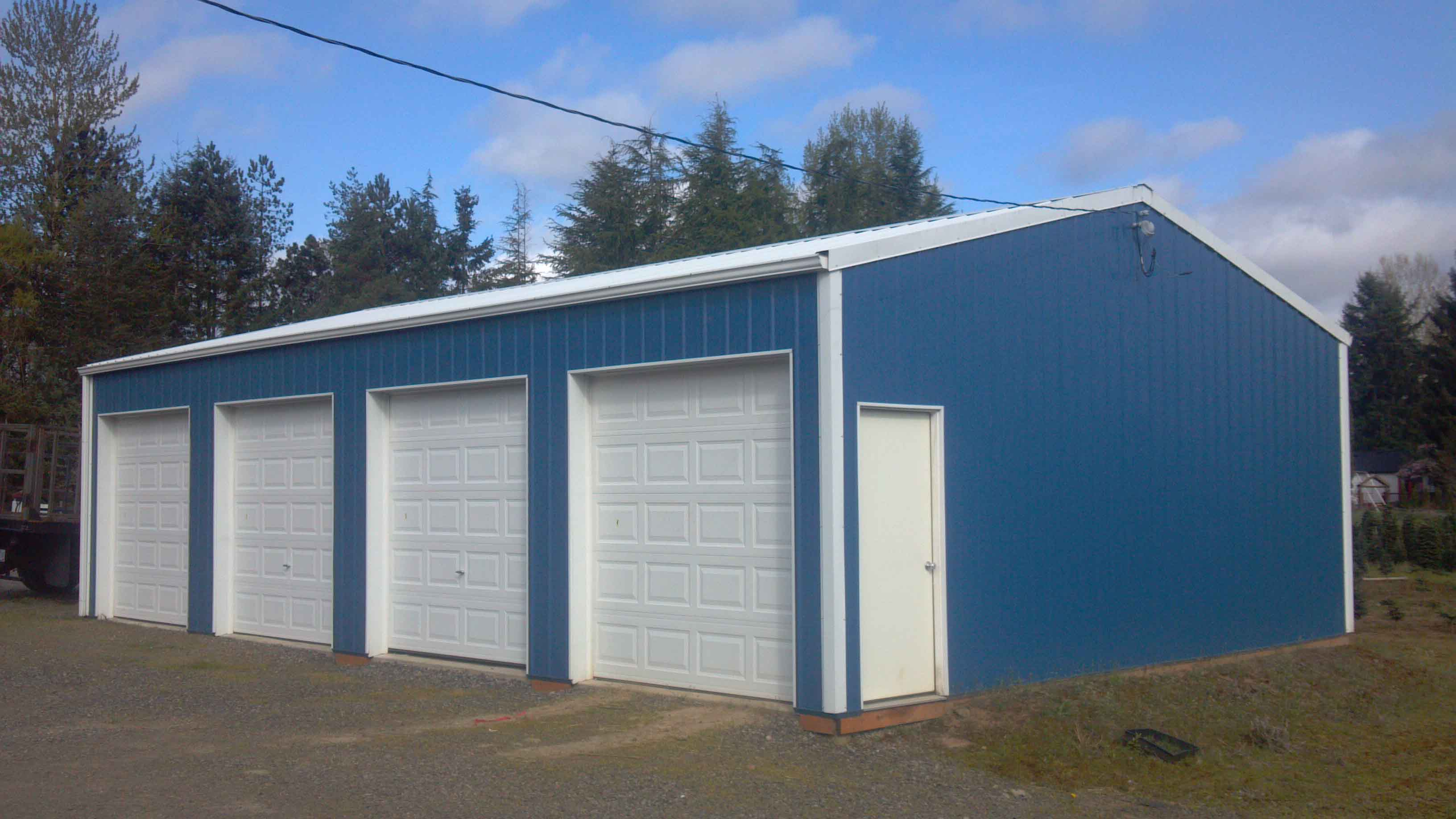 30'x48'x12' Country Min Storage