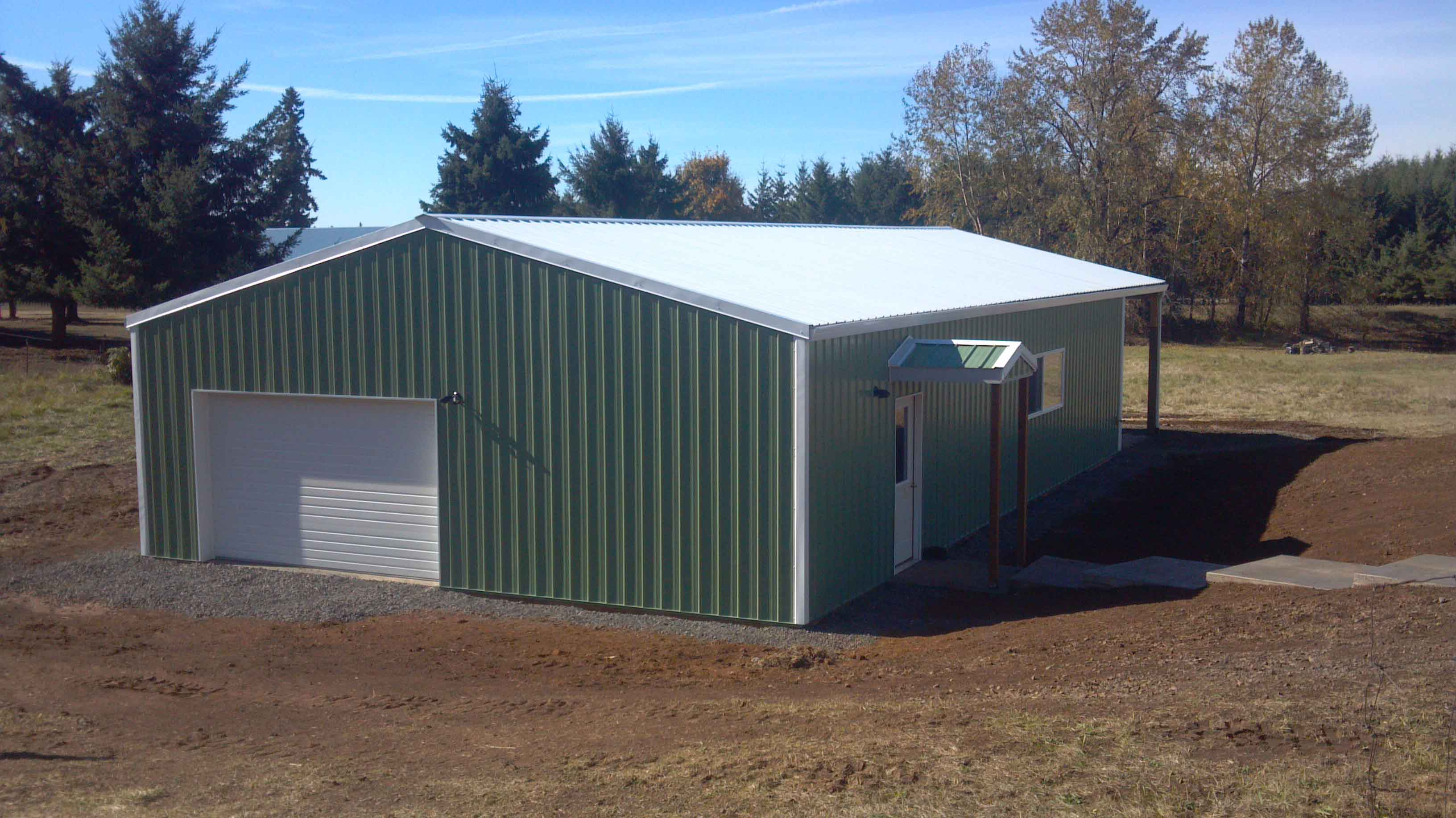 30'x60'x10' dog kennel