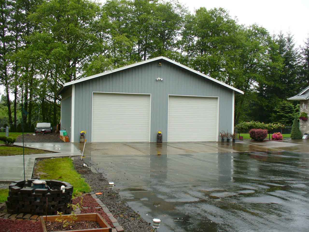 36'x36'x12' pole building shop