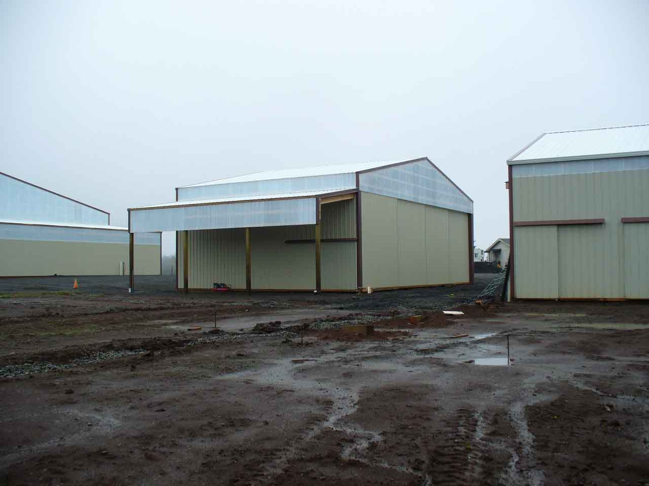 36'x60' hay storage building