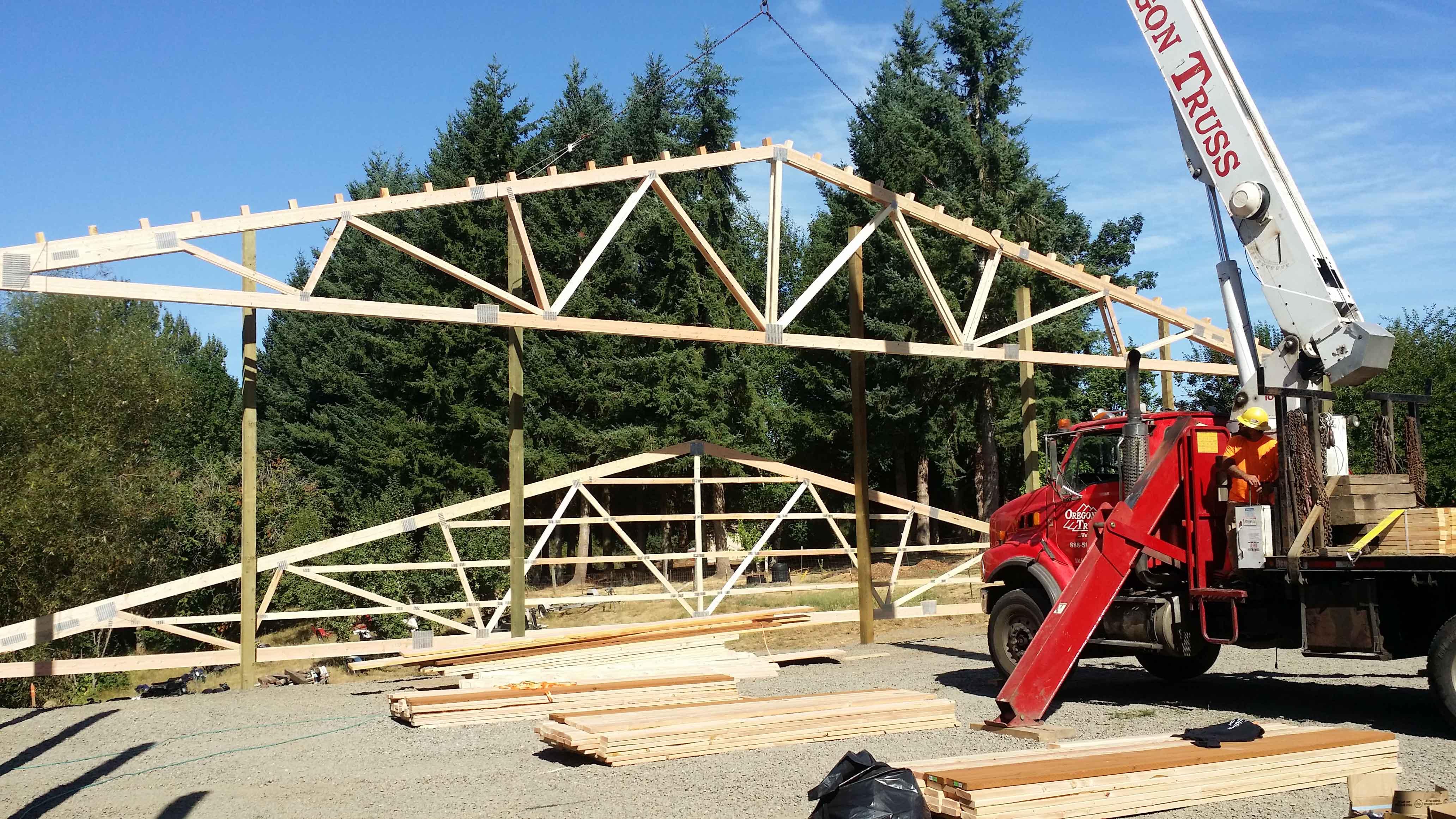 Pole Building Structure 1