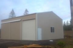 30'x36'x16' Pole building shop (2)