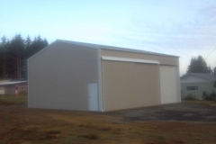 30'x36'x16' pole building shop
