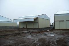 36'x60' hay storage building