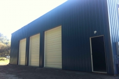 72'x40'x16' welder shop