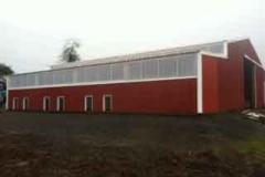 Dog kennel, horse barn