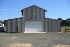 Residing old horse barn