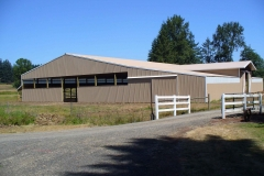 Very nice roping horse arena