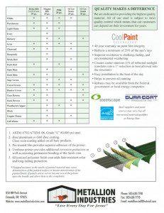 Metallion Color Chart Page 2
