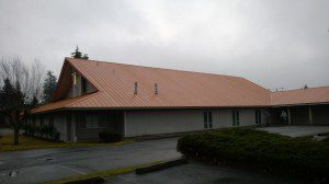 Roofing Loc Seam Church Picture