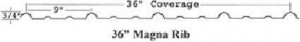 Siding Magna Rib Profile