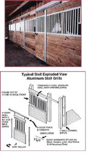 door horse stall