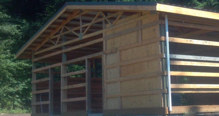Wall Girts Installation Portland Oregon Locke Buildings
